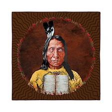 Red Cloud Queen Duvet