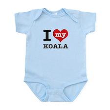 I heart Koala designs Infant Bodysuit