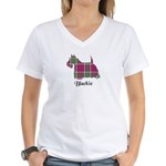 Terrier - Blackie Women's V-Neck T-Shirt