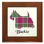 Terrier - Blackie Framed Tile