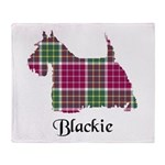Terrier - Blackie Throw Blanket