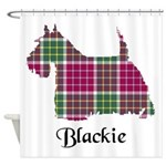 Terrier - Blackie Shower Curtain