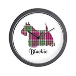 Terrier - Blackie Wall Clock