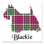 Terrier - Blackie Square Car Magnet 3
