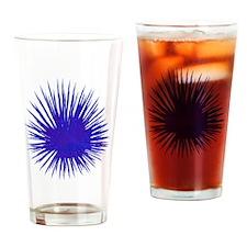Purple Sea Urchin Drinking Glass