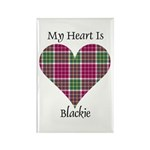 Heart - Blackie Rectangle Magnet (100 pack)