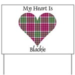 Heart - Blackie Yard Sign