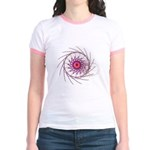Eye of Chaos Jr. Ringer T-Shirt