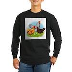 All American Trio Long Sleeve Dark T-Shirt