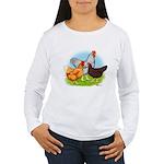 All American Trio Women's Long Sleeve T-Shirt