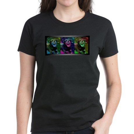 Rottweiler - Pop Art Women's Dark T-Shirt