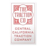 Traction Company Decal