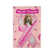 Cute Cancer pet Rectangle Magnet