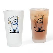 Havanese Drinking Glass