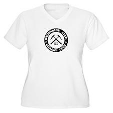 Black Logo Plus Size T-Shirt
