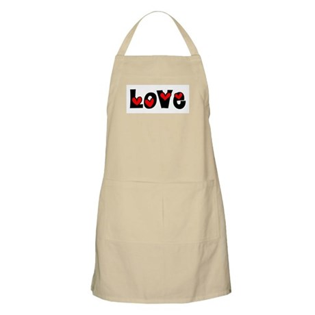 Love BBQ Apron