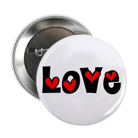 Love 2.25&quot; Button (10 pack)