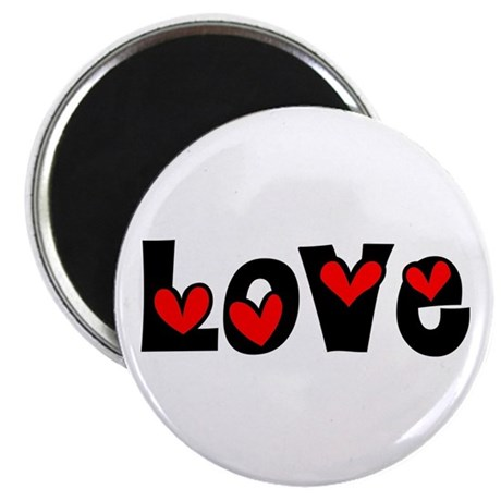 Love 2.25&quot; Magnet (100 pack)