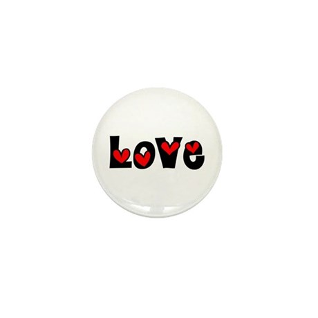 Love Mini Button (100 pack)