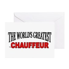 """""""The World's Greatest Chauffeur"""" Greeting Cards (P"""