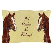 Thoroughbred Portrait Pillow Case