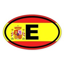 Spain E European Decal