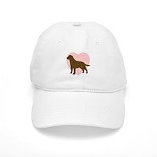 Labrador Retriever Heart Baseball Cap
