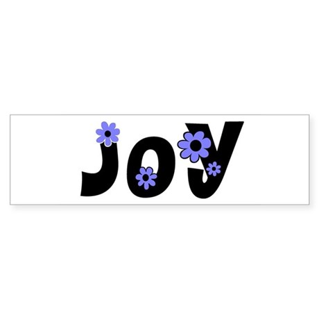 Joy Bumper Sticker