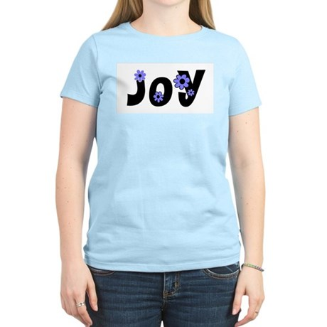 Joy Women's Pink T-Shirt