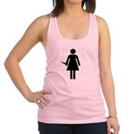 bathroomgirlstake Racerback Tank Top