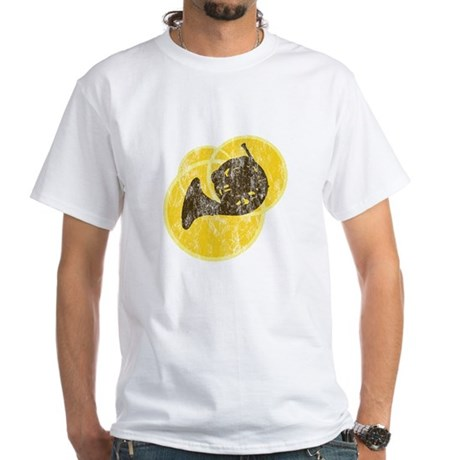 Horn Circles White T-Shirt