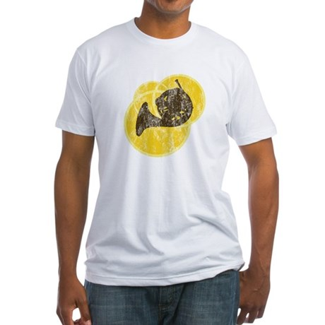 Horn Circles Fitted T-Shirt