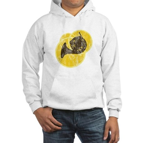 Horn Circles Hooded Sweatshirt