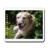 Honeysuckle Yellow Lab Mousepad