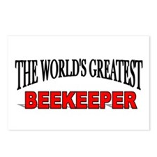 """The World's Greatest Beekeeper"" Postcards (Packag"