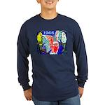 1966 Parrots Long Sleeve Navy T-Shirt