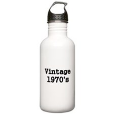 Vintage 11970s Water Bottle