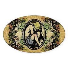 Weeping Cherub Decal