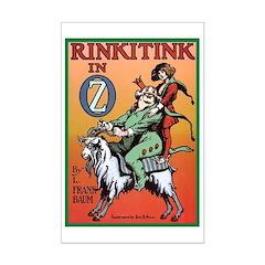 Rinkitink in Oz Mini Poster Print