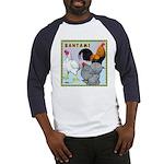Bantam Chickens Baseball Jersey
