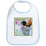 Bantam Chickens Bib