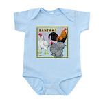Bantam Chickens Infant Bodysuit