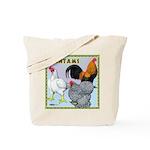 Bantam Chickens Tote Bag