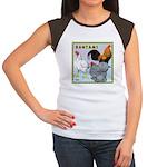 Bantam Chickens Women's Cap Sleeve T-Shirt
