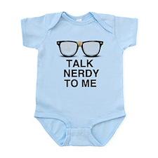 Talk Nerdy to Me. Body Suit