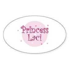 Laci Oval Decal