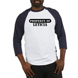 Property of Leticia Baseball Jersey
