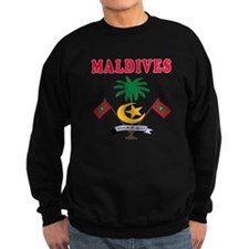 Maldives Coat Of Arms Designs Sweatshirt