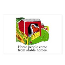 Horse People Postcards (Package of 8)