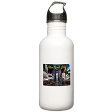 Times Square New York City Sports Water Bottle